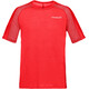 Norrøna Bitihorn Wool - Camiseta manga corta Hombre - rojo